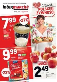 Gazetka promocyjna Intermarche Super - Dzień polskiej żywności Intermarche Super - ważna do 30-08-2021