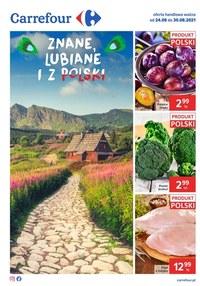 Gazetka promocyjna Carrefour - Lubiane z Polski w Carrefour   - ważna do 30-08-2021