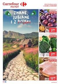 Gazetka promocyjna Carrefour Market - Polskie produkty w Carrefour Market  - ważna do 30-08-2021