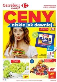 Gazetka promocyjna Carrefour Market - Ceny jak dawniej w Carrefour Market  - ważna do 04-09-2021