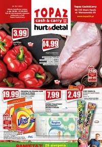 Gazetka promocyjna Topaz - Topaz - nowa oferta hurt & detal - ważna do 01-09-2021