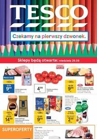Gazetka promocyjna Tesco Centra Handlowe - Szkolne produkty w Tesco - ważna do 01-09-2021
