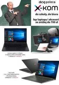 Gazetka promocyjna Ding Poleca - Do szkoły, do biura - X-Kom - ważna do 06-09-2021