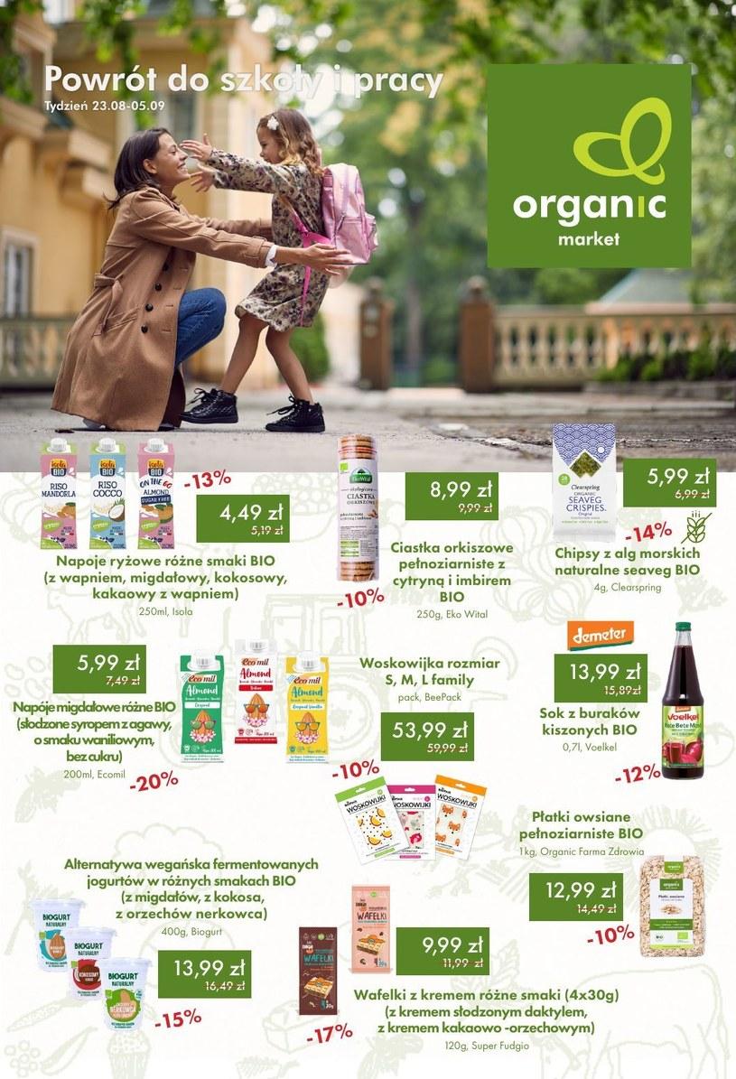 Gazetka promocyjna Organic - wygasła 16 dni temu