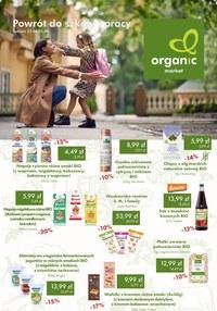 Gazetka promocyjna Organic - Organic - powrót do szkoły i pracy - ważna do 05-09-2021