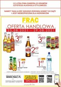 Gazetka promocyjna FRAC - Frac - nowa oferta handlowa! - ważna do 29-08-2021