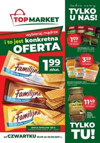 Gazetka promocyjna Top Market - Bliżej i taniej z Top Market!    - ważna do 05-09-2021