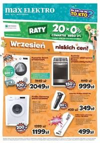 Gazetka promocyjna Max Elektro - Wrzesień pełen promocji w Max Elektro - ważna do 27-09-2021