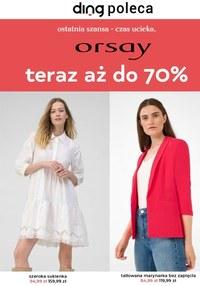 Gazetka promocyjna Orsay - Orsay - promocje do -70%! - ważna do 17-09-2021