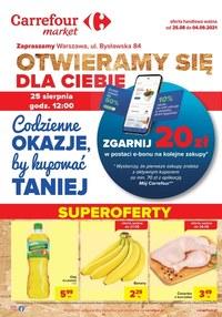 Gazetka promocyjna Carrefour Market - Codzienne okazje by kupować taniej - Carrefour Market - ważna do 04-09-2021