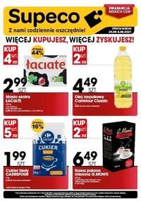 Gazetka promocyjna Supeco - Supeco - więcej kupujesz, więcej zyskujesz! - ważna do 06-09-2021
