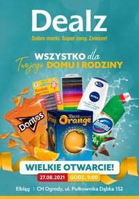 Gazetka promocyjna Dealz - Nowe otwarcie Dealz Elbląg - ważna do 10-09-2021