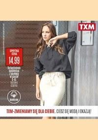 Gazetka promocyjna Textil Market - Ciesz się modą o okazją - TXM - ważna do 31-08-2021