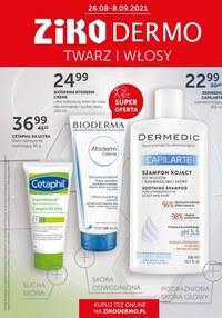 Gazetka promocyjna Ziko Dermo - Ziko Dermo - pielęgnacja twarzy i włosów - ważna do 08-09-2021