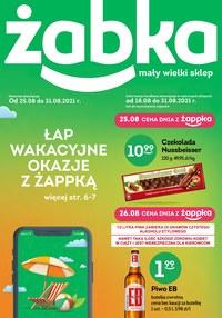 Gazetka promocyjna Żabka - Żabka - łap wakacyjne okazje - ważna do 31-08-2021