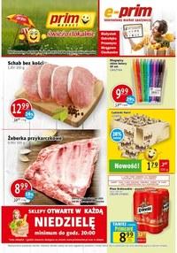 Gazetka promocyjna Prim Market - Świeżo i tanio w Prim Market!     - ważna do 01-09-2021