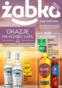 Gazetka promocyjna Żabka - Katalog alkoholowy sieci Żabka - ważna do 21-09-2021