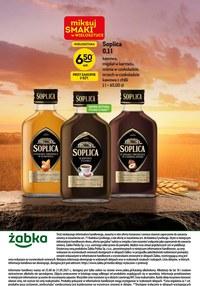 Gazetka promocyjna Żabka - Katalog alkoholowy sieci Żabka