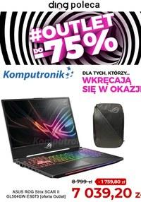 Gazetka promocyjna Komputronik - Komputronik - outlet do -75%! - ważna do 17-09-2021