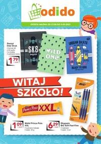 Gazetka promocyjna Odido - Witaj szkoło - promocje w Odido - ważna do 09-09-2021
