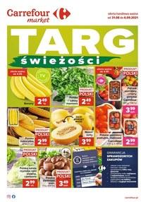Gazetka promocyjna Carrefour Market - Carrefour Market - targ świeżości - ważna do 06-09-2021