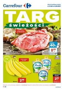 Gazetka promocyjna Carrefour - Carrefour - targ świeżości - ważna do 06-09-2021
