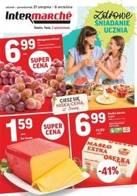 Gazetka promocyjna Intermarche Super - Intermarche - zdrowe śniadanie ucznia - ważna do 06-09-2021