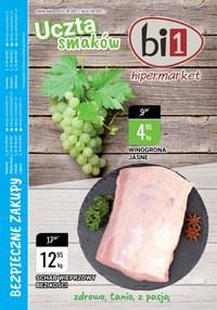 Gazetka promocyjna bi1 - Uczta smaków w bi1 - ważna do 07-09-2021