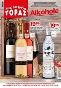 Gazetka promocyjna Topaz - Topaz - oferta z alkoholem - ważna do 30-09-2021