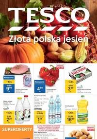 Gazetka promocyjna Tesco Centra Handlowe - Złota jesień w Tesco - ważna do 08-09-2021