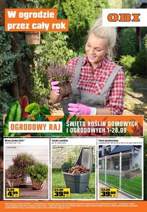 Gazetka promocyjna OBI - Ogrodowy raj w OBI!