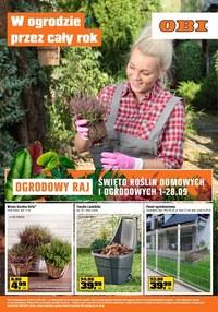 Gazetka promocyjna OBI - Ogrodowy raj w OBI!  - ważna do 14-09-2021