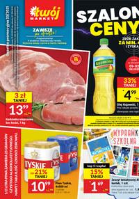 Gazetka promocyjna Twój Market - Szalone ceny - Twój Market - ważna do 07-09-2021