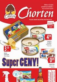 Gazetka promocyjna Chorten - Chorten - super ceny! - ważna do 15-09-2021