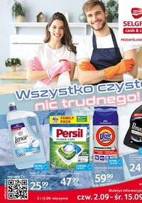 Gazetka promocyjna Selgros Cash&Carry - Katalog sprzątanie - Selgros Cash&Carry - ważna do 15-09-2021