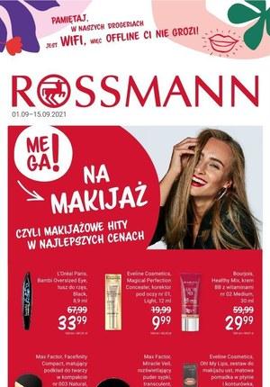 Gazetka promocyjna Rossmann - Wrześniowa oferta Rossmann!