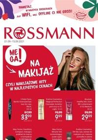 Gazetka promocyjna Rossmann - Wrześniowa oferta Rossmann! - ważna do 15-09-2021