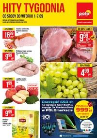 Gazetka promocyjna POLOmarket - Polomarket - kupuj taniej! - ważna do 07-09-2021