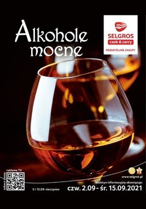 Gazetka promocyjna Selgros Cash&Carry - Mocne alkohole w Selgros Cash&Carry