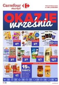 Gazetka promocyjna Carrefour Market - Okazje września w Carrefour Market   - ważna do 25-09-2021