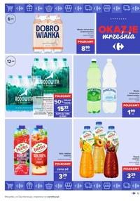 Gazetka promocyjna Carrefour - Okazje września w Carrefour