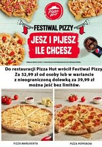 Gazetka promocyjna Pizza Hut - Pizza Hut - festiwal pizzy - ważna do 15-09-2021