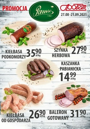 Gazetka promocyjna Społem PSS w Bełchatowie  - Plakat promocyjny Społem PSS w Bełchatowie