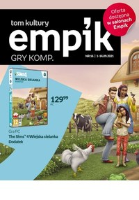 Gazetka promocyjna EMPiK - Gry w katalogu Empik - ważna do 14-09-2021
