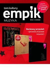 Gazetka promocyjna EMPiK - Muzyczne inspiracje w Empiku - ważna do 14-09-2021