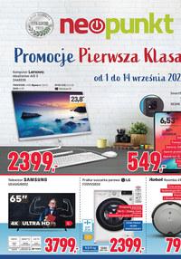 Gazetka promocyjna NEOPUNKT - Promocje pierwsza klasa w Neopunkt!   - ważna do 14-09-2021