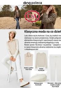 Gazetka promocyjna C&A - C&A - klasyczna moda na co dzień - ważna do 15-09-2021