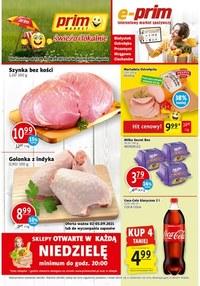Gazetka promocyjna Prim Market - Świeżo i lokalnie - Prim Market - ważna do 08-09-2021