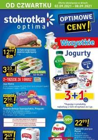 Gazetka promocyjna Stokrotka Optima - Optimowe ceny w Stokrotce!     - ważna do 08-09-2021