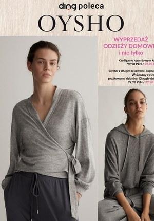Gazetka promocyjna Oysho - Wyprzedaż odzieży domowej w Oysho